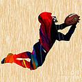 Football by Marvin Blaine