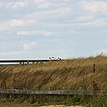 Footbridge Through The Dunes by Denyse Duhaime
