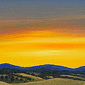 Foothills Sunrise by Frank Wilson
