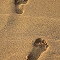 Footprints by Pamela Walton