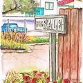 For Sale Sign In Goleta Beach, California by Carlos G Groppa