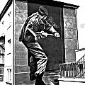 Forced Entry Derry Mural by Nina Ficur Feenan