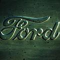 Ford Emblem -0113c by Jill Reger