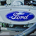 Ford Engine Emblem by Jill Reger