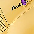 Ford F-100 Emblem Pickup Truck by Jill Reger