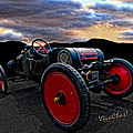 Ford Model T Racer Beat The Storm Home by Chas Sinklier