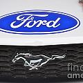 Ford Mustang Emblem by Pamela Walrath