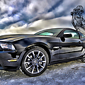Ford Mustang - Featured In Vehicle Eenthusiast Group by Ericamaxine Price
