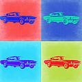 Ford Mustang Pop Art 2 by Naxart Studio