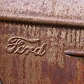 Ford Name Plate by Wes and Dotty Weber