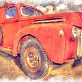 Ford Panel Truck by Liane Wright