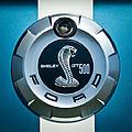 Ford Shelby Gt 500 Cobra Emblem by Jill Reger