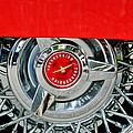 Ford Thunderbird Wheel Emblem by Jill Reger