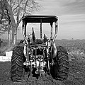 Ford Tractor Rear View by Thomas Woolworth
