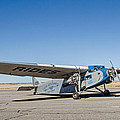 Ford Tri-motor Taxiing by Allen Sheffield