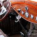 Ford V8 Dashboard by Mary Deal