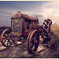 Fordson F Tractor by Yo Pedro