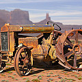 Fordson Tractor by Mike McGlothlen