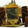 Fordson Tractor Plentywood Montana by Jeff Swan