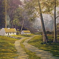 Forest Cottages by Cathal O malley