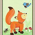 Forest Friends - Fox by Cheryl Marie