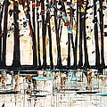 Forest In Abstract by Jolina Anthony