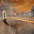 Forest Park Bridge Infrared by Jane Linders