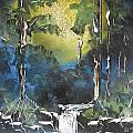 Forest Sun by Aaron Beeston