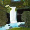 Forest Waterfall by Dan MacDonald