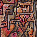 Forest Witches by Paul Klee