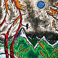 Forever Wild Original Madart Painting by Megan Duncanson