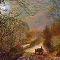 Forge Valley Near Scarborough by John Atkinson Grimshaw