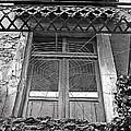 Forgotten Balcony by Monika A Leon