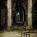 Forgotten Courtyard by Jaroslaw Blaminsky