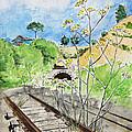 Forgotten Railway by Masha Batkova