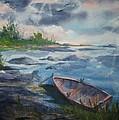 Forgotten Rowboat by Ellen Levinson