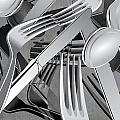 Fork Knife Spoon 7 by Angelina Tamez