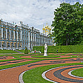 Formal Garden In Front Of The Palace by Panoramic Images