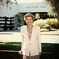 Former First Lady Betty Ford Posing by Everett