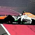 Formula 1 Grand Prix Crash by George Pedro