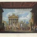 Foro Di Pompei Festivamente Adorno by Antonio Saverio