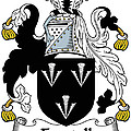Forstall Coat Of Arms Irish by Heraldry