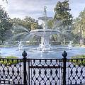 Forsyth Park Fountain by Bradford Martin