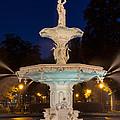 Forsyth Park Fountain Savannah Georgia by Dawna Moore Photography