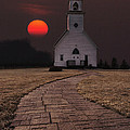 Fort Belmont Sunset by Aaron J Groen