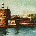 Fort Denison 1930's - Pinchgut by Lyndsey Hatchwell