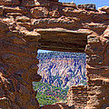 Fort Jemez Adobe Window by Brian King