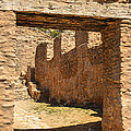 Fort Jemez National Park Church Entrance by Brian King