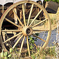 Fort Laramie Wy - Moving West On Wagon Wheels by Christine Till