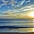 Fort Lauderdale Beach At Sunrise by Eyzen M Kim